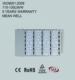 Modular LED street light 200W with high luminous efficiency 110-130lm/W